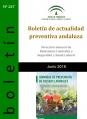 BOLETIN ACTUALIDAD PREVENTIVA ANDALUZA JUNIO 2018