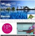 Descuento 10% en Hoteles BARCELO 2017